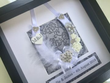 Wedding Horseshoe Gift Frame